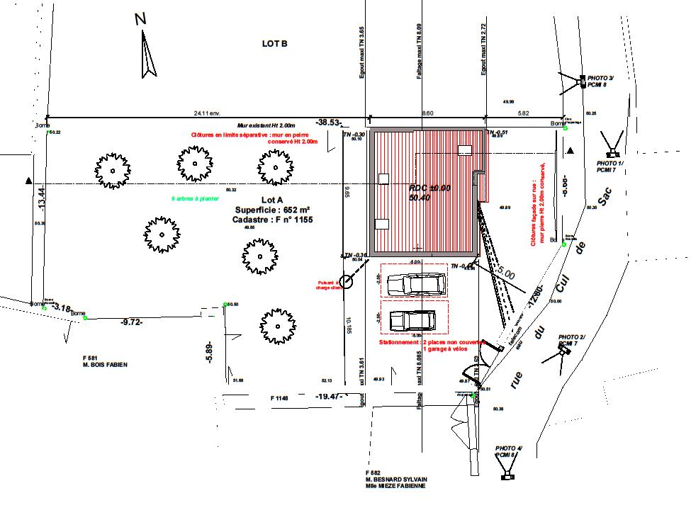 Les plans maisonvanilla77 for Permis de construire plan